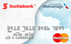 Scotiabank MasterCard credit card