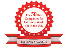 Latina Style Inc 2019 50 best companies for Latinas to work for in the U.S.